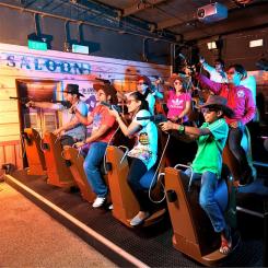 Best of 2 Attractions - Sentosa 4D AdventureLand & TrickEye Museum