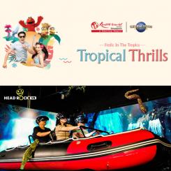 Universal Studios Singapore + Headrock [Adult]