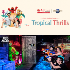Universal Studios Singapore + Nerf Action Xperience [Adult]