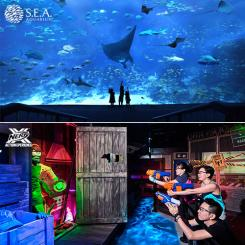 S.E.A Aquarium + Nerf Action Xperience [Adult]