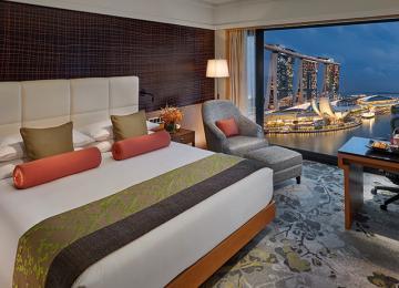 SingapoRediscovers - Marina Bay View Room