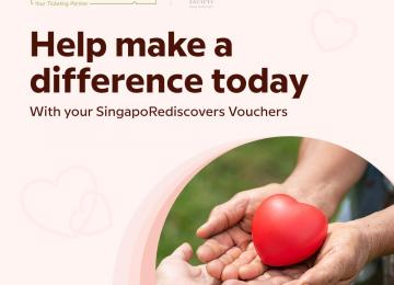 Donation to Singapore Children's Society
