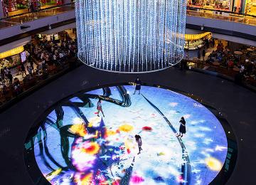 Marina Bay Sands - Digital Light Canvas
