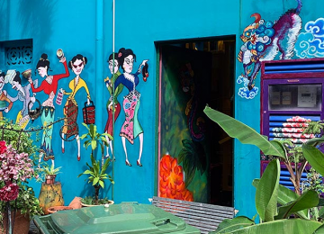 STREET ART TOUR at Katong and Joo Chiat (Lunch Included)