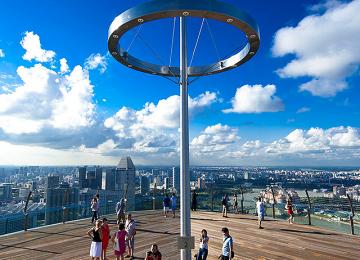 Marina Bay Sands - Sands SkyPark Observation Deck